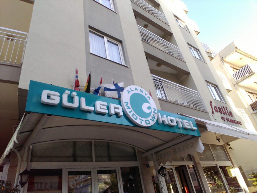 GülerOtel.com-bina giriş